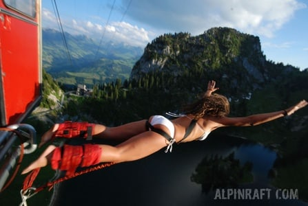 Bungee Jump Stockhorn: Bernese Oberland Mountains Plunge