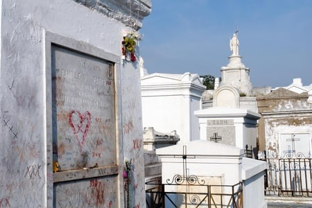 New Orleans Cemetery and Gris-Gris Half Day Walking Tour