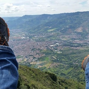 Paragliding the Andes from Medellín