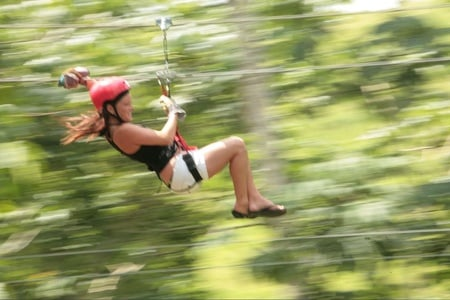 From Punta Cana: Morning Half-Day Zip-Line Adventure
