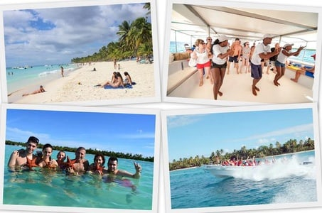 Saona Island Day Trip with Private Transportation