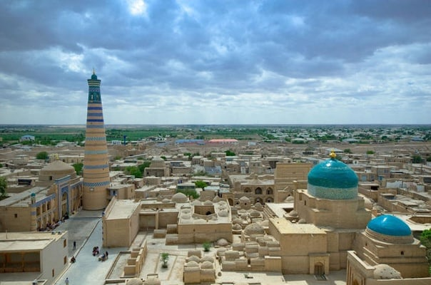 Persian Gardens of Samarkand on Silk Road Small Group Tour