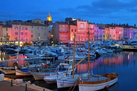 St Tropez by night Private tour from Nice