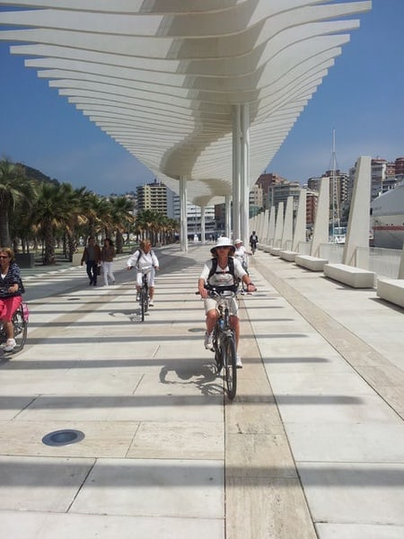 Malaga Bike Tour - Old Town, Marina & Beach