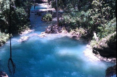 Blue Hole Private Tour from Ocho Rios