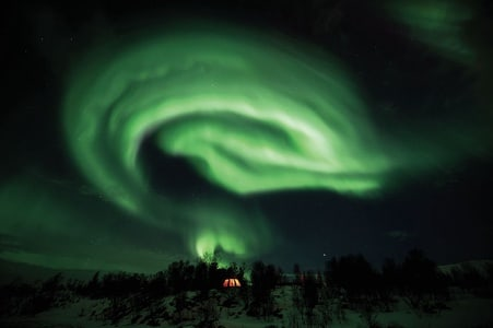 Tromsø: Northern Lights and Husky Experience with Dinner