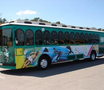I-RIDE trolley pass in Orlando