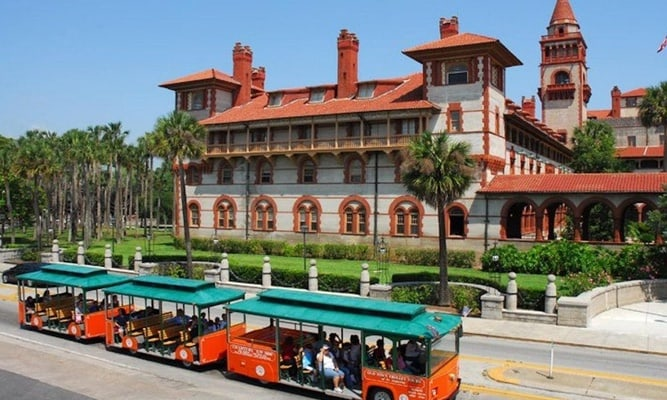 Day trip to St Augustine with trolley tour