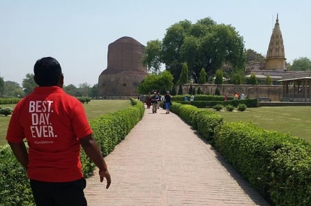 Sarnath and Aarti Experience Small Group Tour in Varanasi