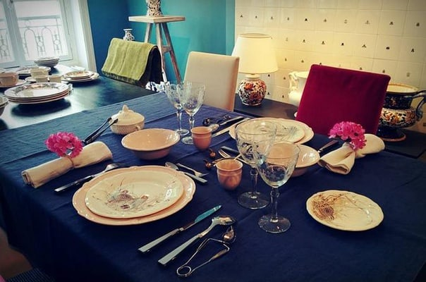 Table Setting and Manners Workshop in Paris