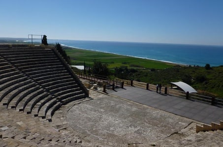 Day Trip: Kourion Ancient Theatre, Kolossi Castle and Cyprus Villages from Paphos Town