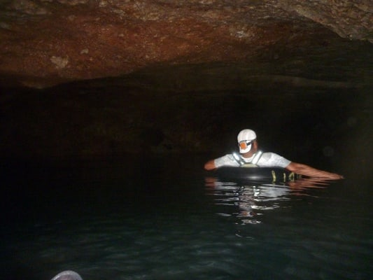Cave Tubing and Zip Line