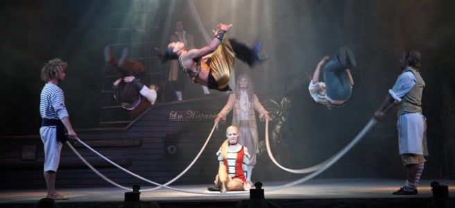 Mallorca: Pirates Adventure Show Tickets with Dinner