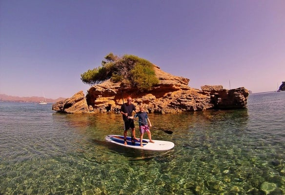 Puerto de Pollensa: Beginners' Stand Up Paddle Board Course