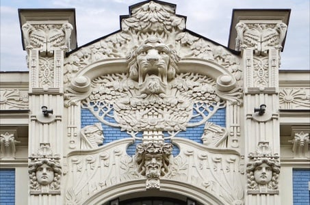 Old Town and Art Nouveau Walking Tour of Riga