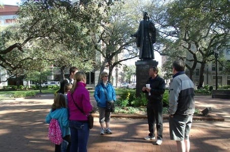 A Walk Through Midnight in the Garden of Good and Evil in Savannah