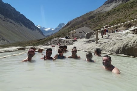 Baños Colina Hot Springs Day Trip from Santiago