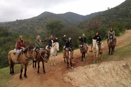 Horseback Riding and Ranch Day Trip with Lunch from Santiago