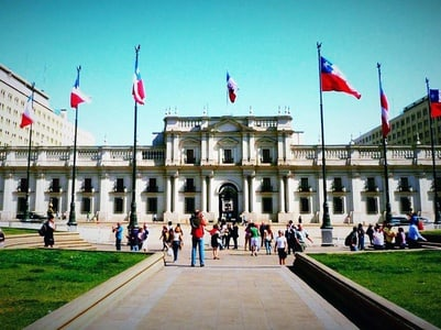 Santiago Guided Gastronomic Tour with Cable Car Ride