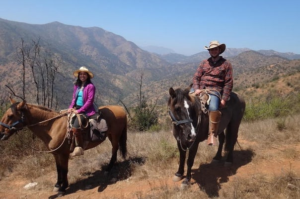 Half Day Horseback Riding in the Chilean Countryside from Santiago