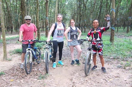 Cu Chi Tunnels Cycling Tour from Ho Chi Minh City