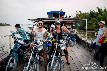 Ho Chi Minh City Outskirts Motorbike Tour with Can Gio Biosphere