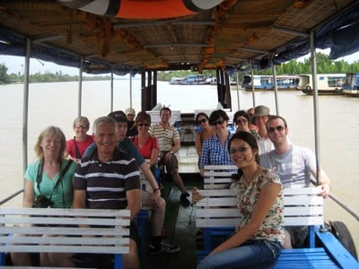 Rural Vietnam: Mekong Delta Discovery Cruise with Bee Farm Visit