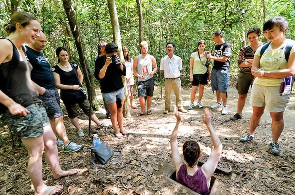 Tay Ninh Holy See and Cu Chi Tunnels
