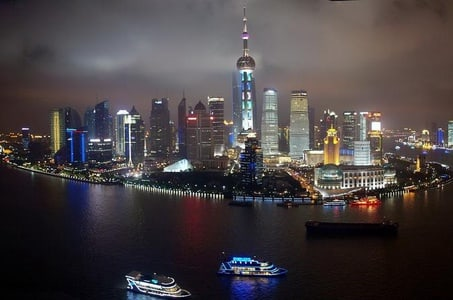 Huangpu River Cruise and Highlight City Night Tour