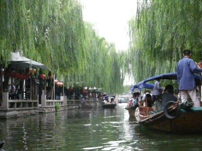 Suzhou City and Zhouzhuang Water Town Private Day Trip from Shanghai