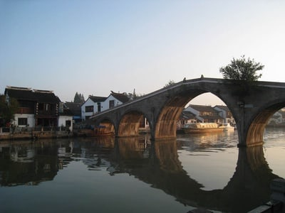 Zhujiajiao Water Village and Qibao Seven Treasures Old Town Day Trip from Shanghai