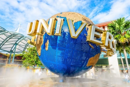 Singapore Universal Studios with shared transfers