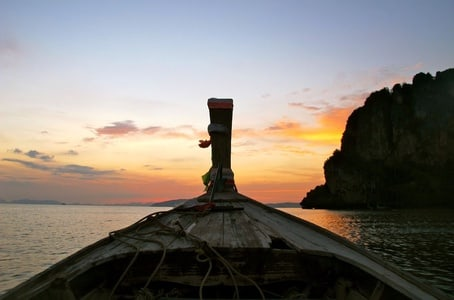Krabi: Islands Sunset Tour with Plankton Swim and Barbecue