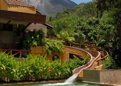 Arenal Volcano and Tabacon Resort from San Jose