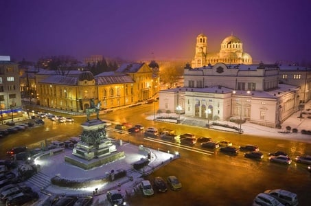 Sofia Evening Panoramic Tour and Bulgarian Dinner Included