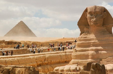 Cairo Day Tour by Air from Sharm El Sheikh