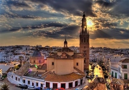 Carmona the Cradle of Civilization from Seville