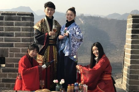 Private Day Trip: Time Travel into The Past Great Wall including Lunch