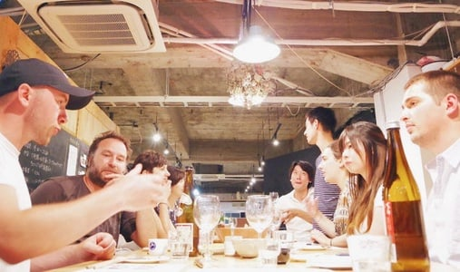 Sake and Food pairing with a sake sommelier