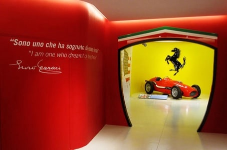 Italian Food and Museo Ferrari Small Group Tour from Bologna Including Gourmet Lunch