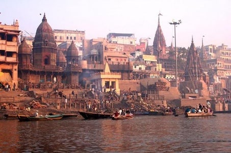 Full-Day Private Varanasi and Sarnath Tour including Ganges Boat Cruise