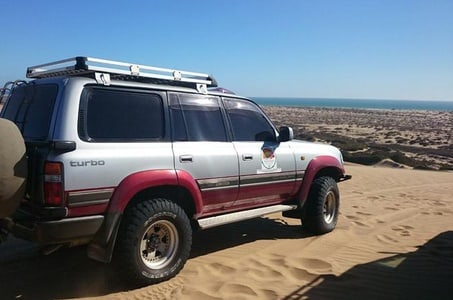 Sandwich Harbour Self-Drive Adventure in the Namib Desert from Walvis Bay