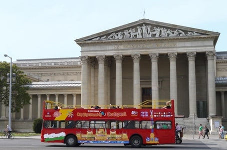 City Sightseeing Budapest Hop-On Hop-Off Tour With Optional Boat Ride
