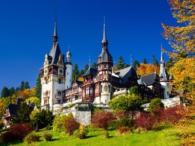 Day Trip to Peles Castle and Dracula's Castle