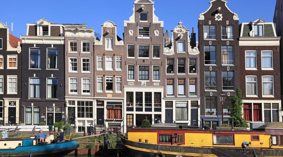 Jordaan District in Amsterdam