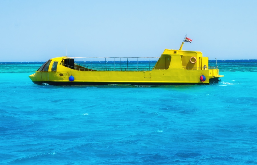 sinbad submarine in hurghada