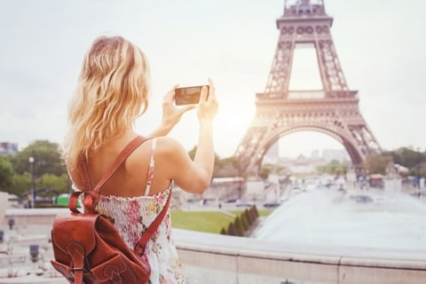 Top 8 ideas for photos in Paris