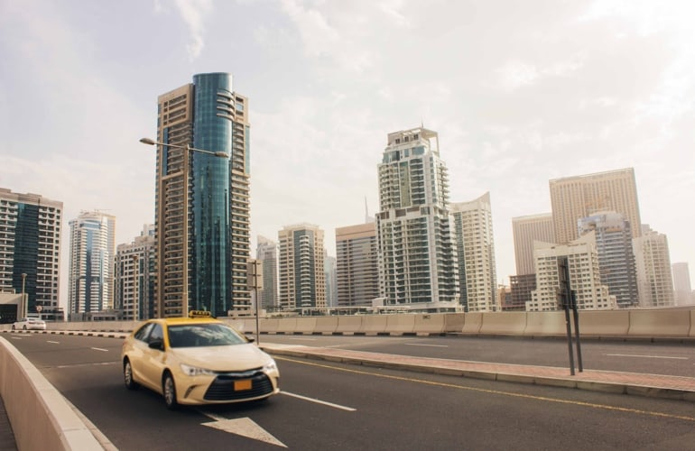 Taxi in Dubai