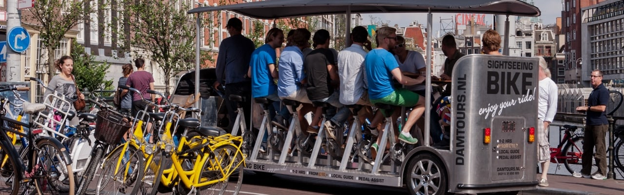 Bubble bike - Best things to do in Amsterdam